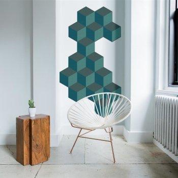 Polysound BASO Absorber 3D Hexagon L Ø45cm - 40Farben