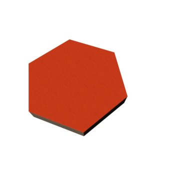 PolySound ECO Hexagon Ø200mm - Farbe: orange...