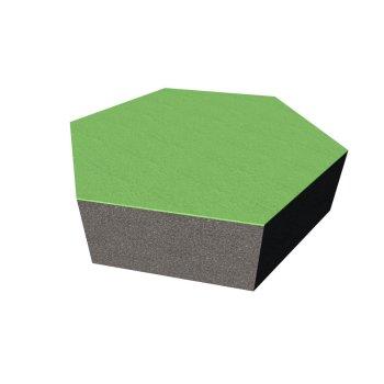 PolySound ECO Hexagon Ø200mm - Farbe: maigrün...