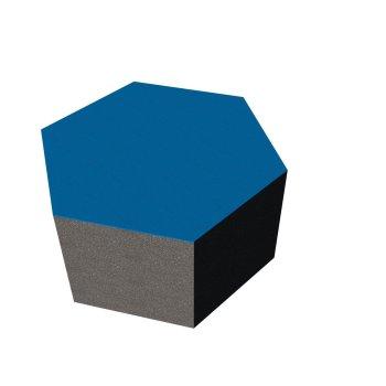 PolySound ECO Hexagon Ø200mm - Farbe: mittelblau...