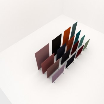 PolySound Style Akustik Büro Stellwand