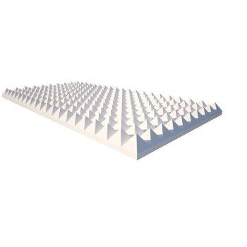 Pyramidenschaum aus Basotect® weiß - 100cm x...