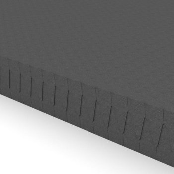 Akustik Noppenschaumstoff-Platten flammhemmend anthrazit - 2m² - 40mm
